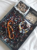 Used Gem and pearls for jewelry making in Dubai, UAE