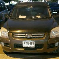 Used Kia Sportage With Xenon Lights And Good Sound System Available For Urgent Sale   in Dubai, UAE