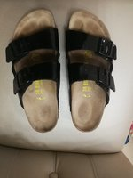 Used ORIGINAL BIRKENSTOCK SLIPPERS.. SIZE38 in Dubai, UAE