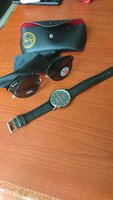 Used Rayban and watch lucky one in Dubai, UAE