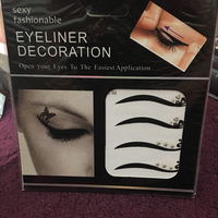 Eyeliner Decoration 6 pieces