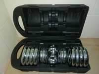 Used Chrome Dumbbell Set 12kg in Dubai, UAE