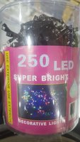 Used Decorative light 250 LED lights in Dubai, UAE