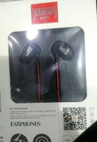 Used Yinwoking W15 Wired Earphone New Black in Dubai, UAE
