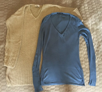 Two women's jumpers