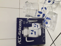 Used Alokozay jug with 6 pieces cups in Dubai, UAE