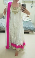 Swarovski work Indian outfit Medium size