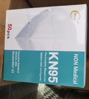 Used Mask KN95 50pcs non medical in Dubai, UAE