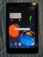 Used Lenovo A5500 tab with SIM in Dubai, UAE