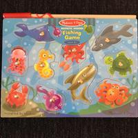 Melissa&doug Doug Wooden Magnetic Fishing