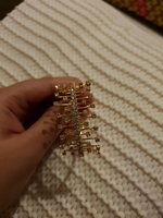 Used Golden imitation bracelet in Dubai, UAE