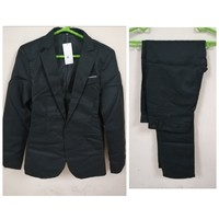 Used Black suit with pant size 3XL in Dubai, UAE