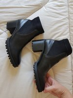 Used Zara New leather boots size 39 in Dubai, UAE