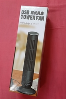 Used USB tower fan,black ! in Dubai, UAE