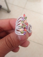 Authentic Kashmiri precious gem ring