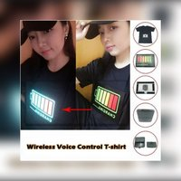 Used Sound activated t shirt size 2 XL in Dubai, UAE