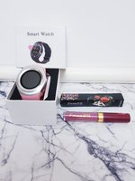 Used Women's Smart Watch + Free Lip Gloss! in Dubai, UAE