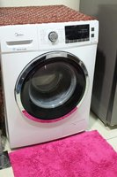 Used Midea washing machine 8kg frontload in Dubai, UAE
