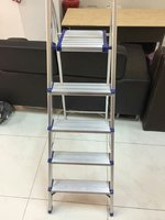 Used Steel :step ladder&clothes drying rack in Dubai, UAE