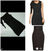 Sexy Hip Package Pencil Dress Slim Black