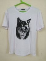 Used 3D Wolf Head Short-sleeved T-shirt.. in Dubai, UAE
