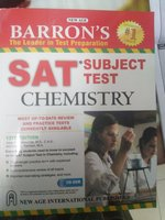 Used Sat Subject Tests Chemistry Barron in Dubai, UAE
