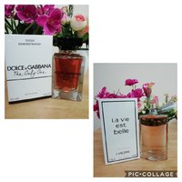 D&G the only one and lancome