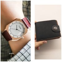 Used Original TOMI Watch +FREE Leather Wallet in Dubai, UAE