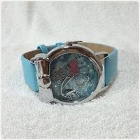Blue hello kitty watch for her