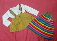 Used For 3 to 9 months baby girl, 2 pcs in Dubai, UAE
