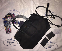 Used Prada Sling Bag (black color) in Dubai, UAE