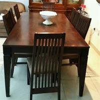 Used 8 Seater Dining Table. 3 Seater Plus 2 1seater Each And Coffee Table. Homes R Us Furniture in Dubai, UAE