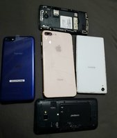 Used 5 dead phones for parts in Dubai, UAE