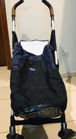 Used Chicco Stroller with removable baby bag in Dubai, UAE