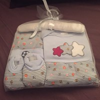 Baby Boy Layette Set New 0-6 Months