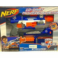 Used NEW Nerf N-Strike Elite Stockade Blaster in Dubai, UAE