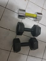 Used Gym dumbles 6+4+4 in Dubai, UAE