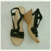 Used New Wedge heel sandal fits size-39-40 in Dubai, UAE