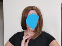Used Costume wig synthetic short Bob in Dubai, UAE