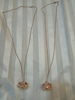 Used 2 Gold Plated Beautiful Necklaces in Dubai, UAE