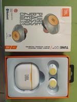 Used JBL tune T20 wireless earbuds white in Dubai, UAE
