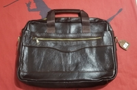 Used Elegant Professional Leather Briefcase in Dubai, UAE