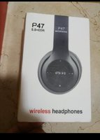 Used P47 Bluetooth headset new pack - in Dubai, UAE