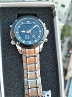 Used Original NAVIFORCE Dual Time Watch ◇ NEW in Dubai, UAE