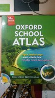 Used Oxford School Atlas 34th edition in Dubai, UAE