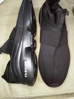 Used New flexible comfy black sneekers 43 in Dubai, UAE