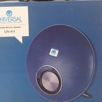 Used Universal Bluetooth speaker, Blue 👌👌👌 in Dubai, UAE