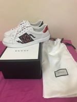 Used Authentic gucci snake print ace sneakers in Dubai, UAE