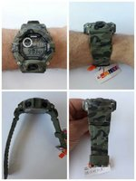 Army Camouflage Green Sports Watch▪New