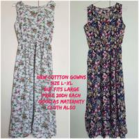 Used 4 New Loose / Maternity Gowns.  in Dubai, UAE